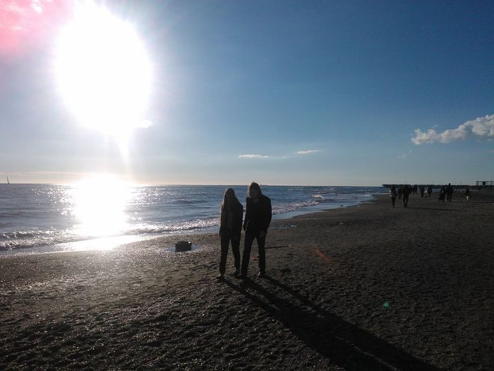 Walking On The Beach Seaside No Edits No Filters Sunny Day