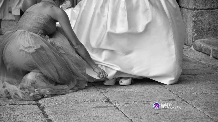 Detail of wedding in San Lorenzo De El Escorial Black And White Peoplephotography Españoles Y Sus Fotos