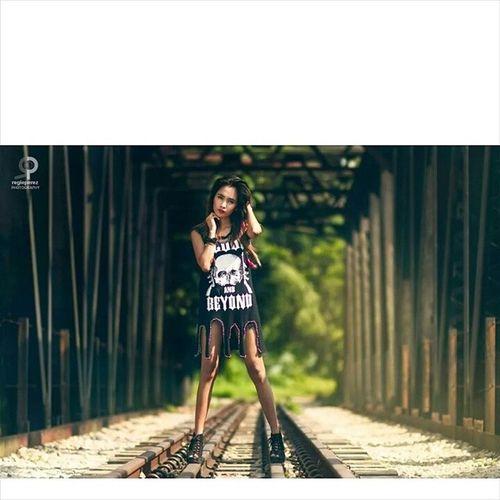 Reginald Perez Photography Photography Photoshoot Model Railway fierce rocker rockstar