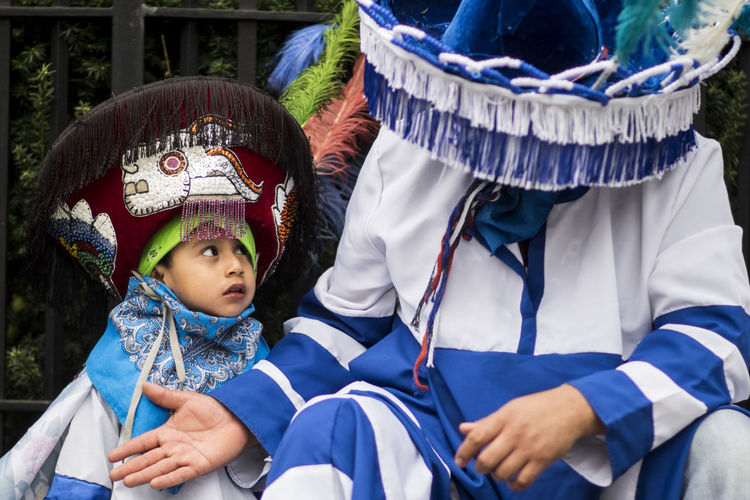 5 De Mayo  Cinco De Mayo Mexican Culture Mexico Blue Child Costume Cultures Innocence Mexican Boy Mexican Clothing Mexican Holidays Outdoors Parade People Real People Streetphotography