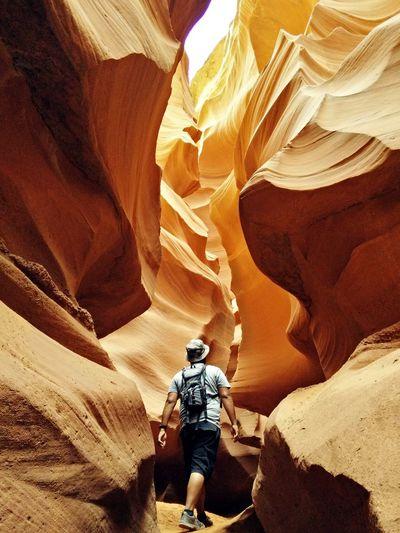 Lower Antelope Canyon (Page, AZ) First Eyeem Photo Canyon Arizona Antelope Canyon Lower Antelope Canyon Orange Sandstone Colour Of Life Slot Canyon Sandstone Color Nature