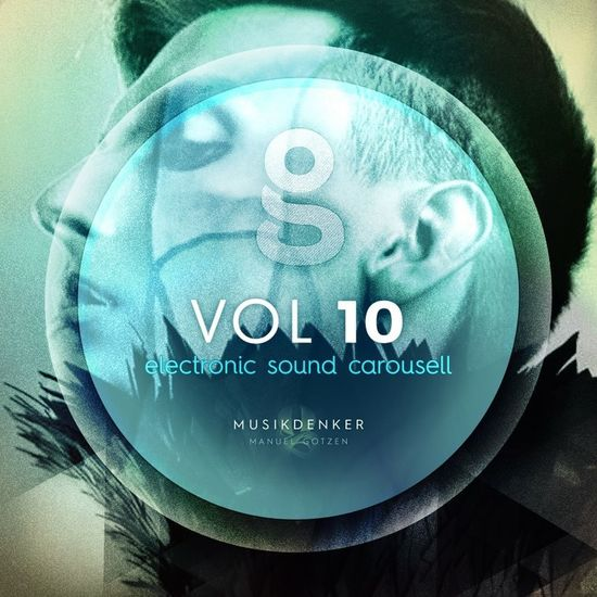 Electronic Sound Carousell Podcast Track Cover Optimiere for SoundCloud 800x800 Digital Art