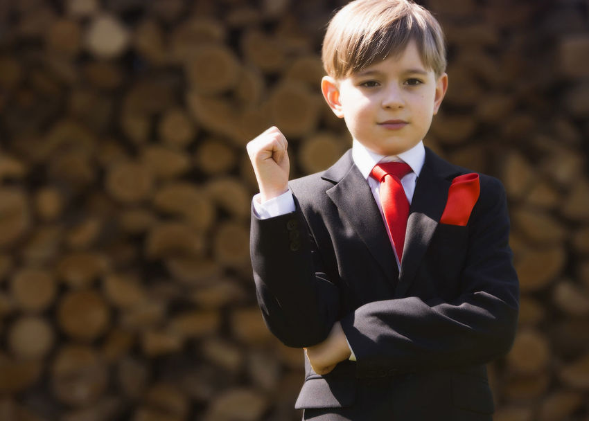 boy, youg buissnesman Baby Boys Casual Clothing Childhood Communication Connection Facial Expression Focus On Foreground Hmmmm ........ Writing This Is Too Risky Holding Innocence Leisure Activity Master Miliondolars Person Playing Red Tie Standing Swiss Technology Waist Up Neighborhood Map Live For The Story