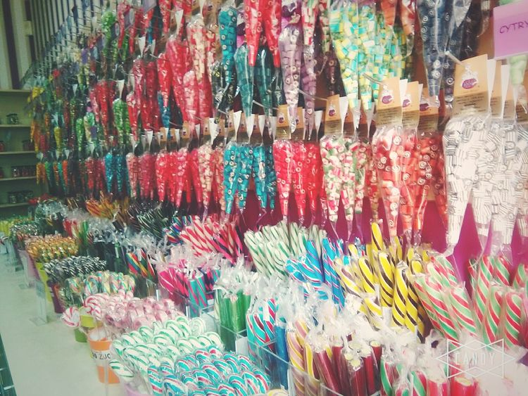 Multi Colored Candys Sweets Heaven Candyshop Store Food♡ Taking Photos Gdansk,poland