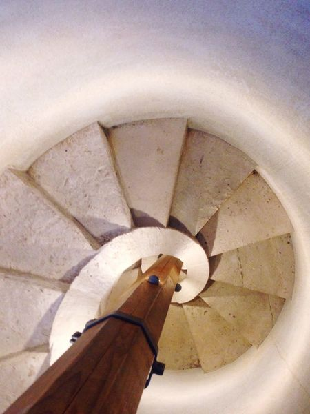 Stairs Spiral Staircase Steps No People Indoors  White EyeEm