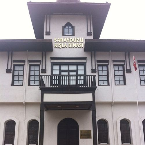 Amasya Sarayduzu Kisla Müze museum tarih history heykel ataturk architech amasya tamimi bu binada imzalandi