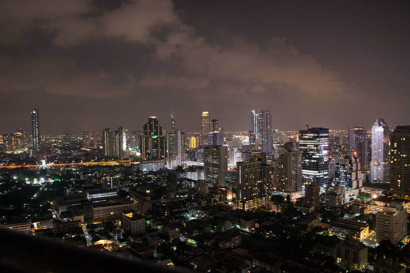 Bangkok Bangkok Thailand. Apartment Architecture Building Building Exterior Built Structure City Cityscape Cloud - Sky Crowd Crowded Financial District  Illuminated Modern Nature Night Office Building Exterior Outdoors Residential District Sky Skyscraper Tall - High Urban Skyline