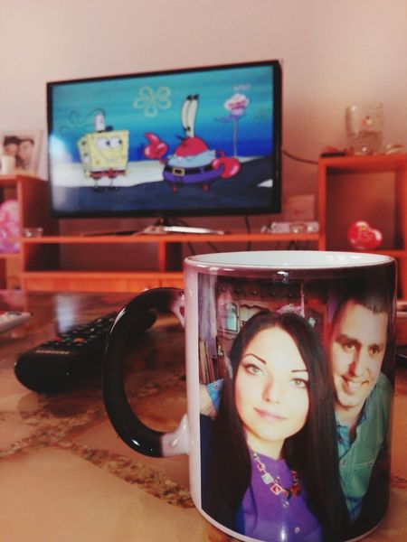 Good Morning with Spongebob and Coffee 😍🌞❤ Sunyday Coffee Time Coffee At Home Coffee Cup Cartoons Spongebobsquarepants Sun Mornong Coffee Morninglikethis Morningroutine