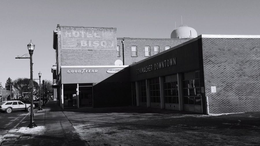 Bob Dylan's 1959 Fargo, North Dakota Residence QVHoughPhoto FujiFilmX100 Fargo Northdakota Hotelbison Downtown Broadway Cityscapes History Bobdylan Blackandwhite Fresh3