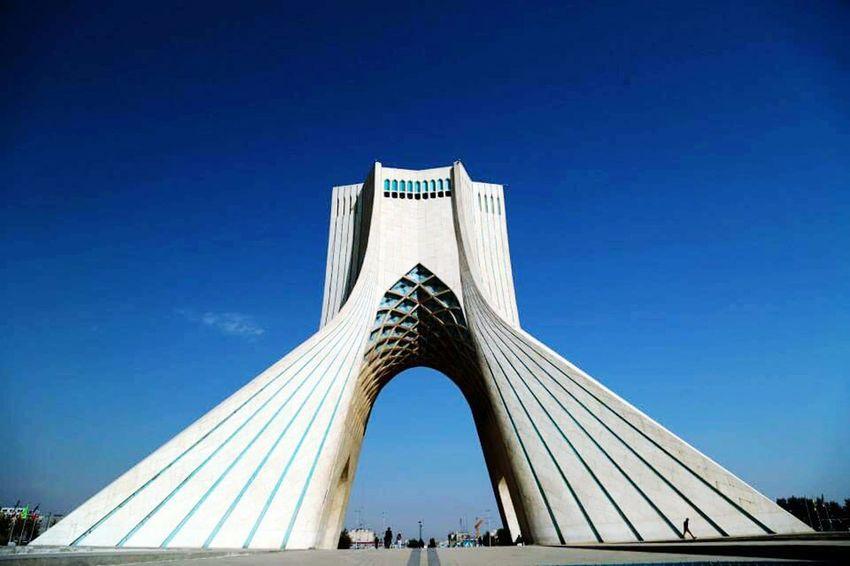 Anıt Azaditower Iran özgürlük