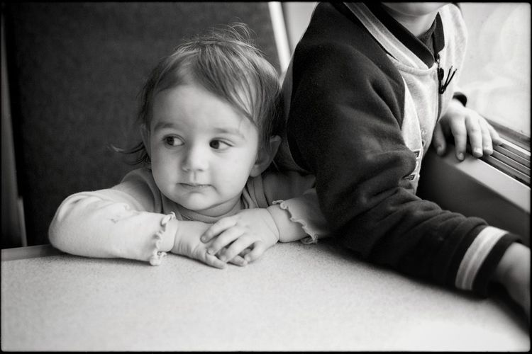 Taking a train ride. Child Childhood Looking At Camera Portrait Peaceful Angelic Kids Kids Being Kids Kids Photography Black And White Black & White Black And White Photography Black And White Portrait Portrait Photography Film Photography Film Film Is Not Dead 35mm Film