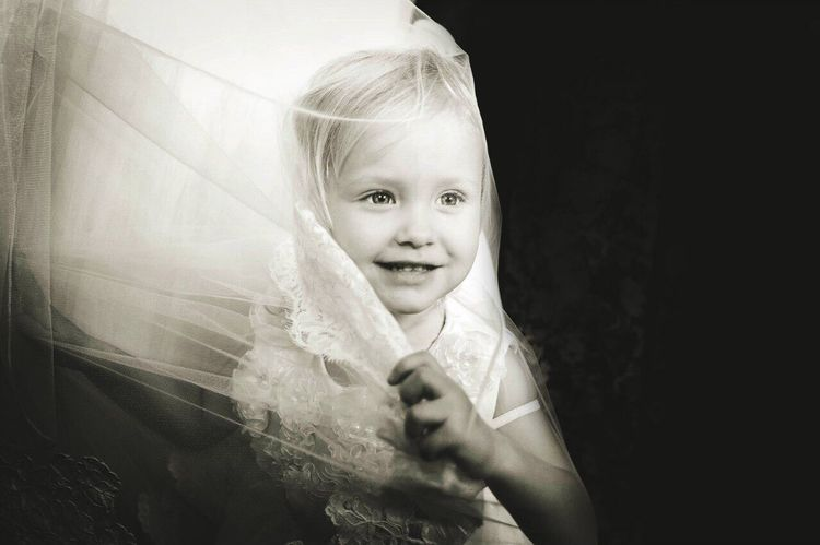 Little bride Bride Bride And Groom Wedding Photos Wedding Day Wedding Party Weddings Cheese! Ekaterina Pogrebnyak Love