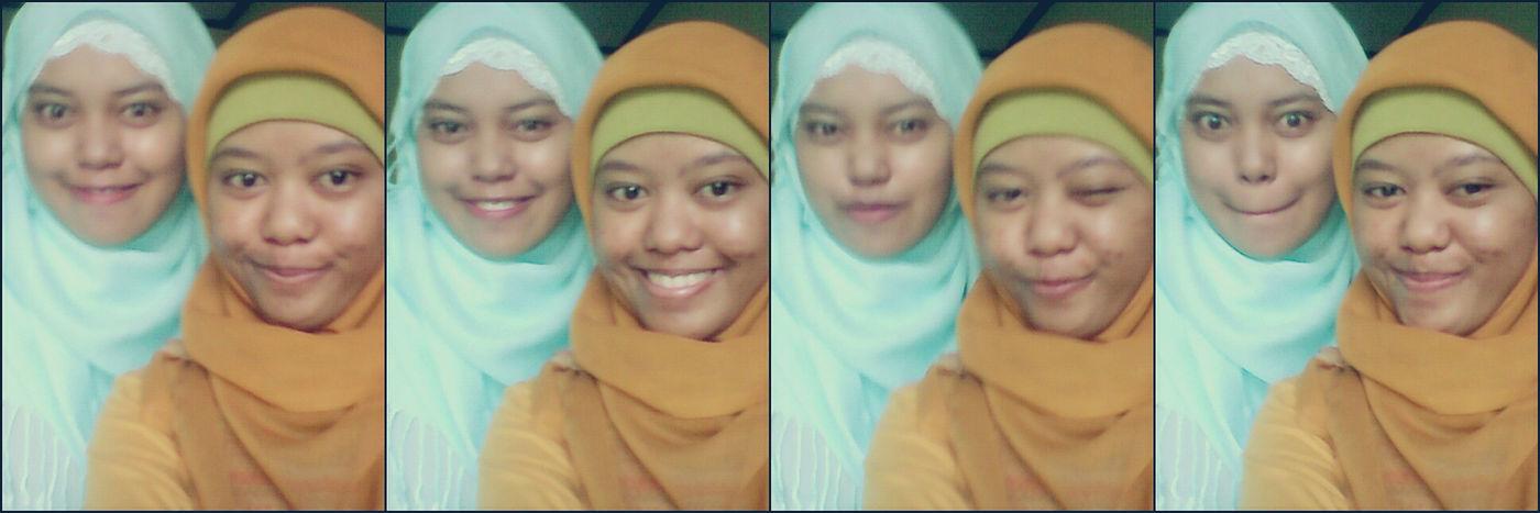 crazy with sister:D Random(: