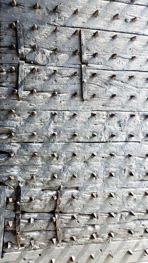 Medieval Door Old City Gate Trogir,croatia Spiked Door Old Wooden Gate Wooden Steel Enhanced Gates Historic Game Of Thrones