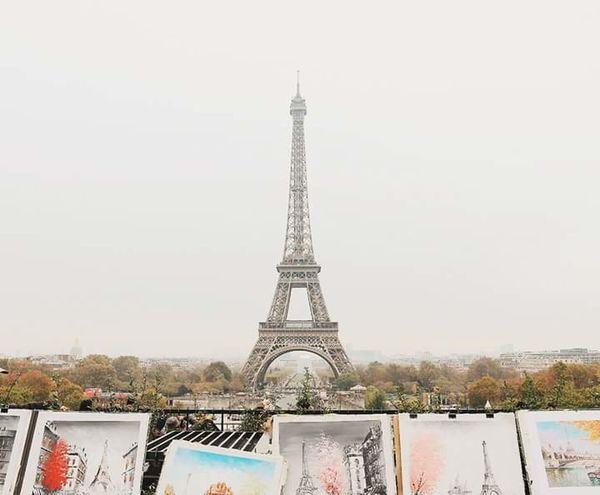 Tower Travel Destinations Iron - Metal Metal Architecture Tourism Travel City Cultures History Built Structure Cityscape Outdoors Vacations Sky Urban Skyline No People Day Paris, France  Effeltower Paris, France