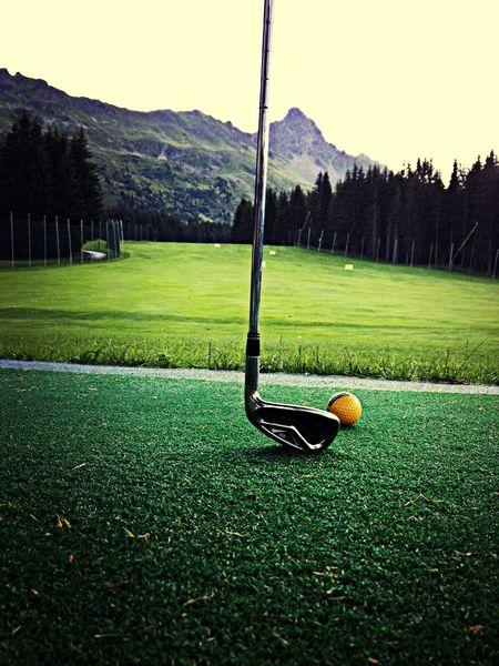Golf Meribel Practice Sport First Eyeem Photo