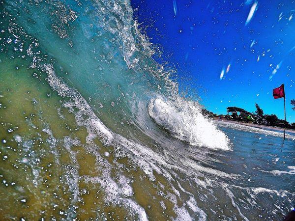 Shorebreak Waves Beach Naturelovers Landscape Sea Ondas Surf Surfing Barrel Sunset Praia Nature