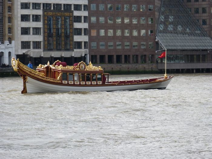 River Thames Outdoors City No People Day Gondola - Traditional Boat Travel Destinations Nautical Vessel Britain England, UK EyeEmBestPics EyeEm Best Shots EyeEm Gallery London City Postcode Postcards River Tha