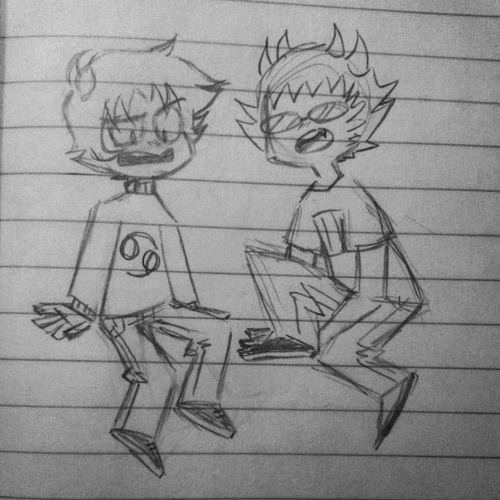 I ship them both c: Homestuck Drawings My Drawings Doodle
