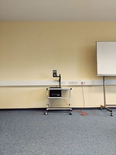 Projector Old School Yellow Retro Old Fashioned School Teach Prison Technology Filing Cabinet