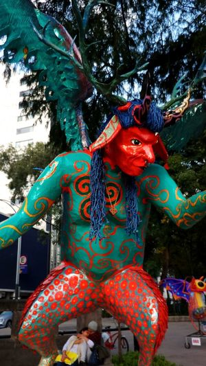 Alebrije Arts Culture And Entertainment Multi Colored Celebration Day Mexico Discover Your City Mexico City Be Creative Streetphotography City Artist Freedom Creative Adventures