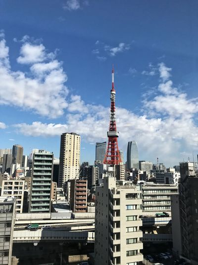 I feel like I'm in Tokyo. Tokyo Architecture Skyscraper Built Structure Building Exterior City Tall - High Travel Destinations Modern Mobility In Mega Cities