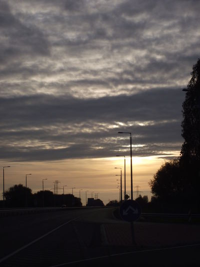 Dramatic Sky Sunset Cloud - Sky Sky Outdoors No People Tranquility Day Highways&Freeways Hungary Traveling Home For The Holidays