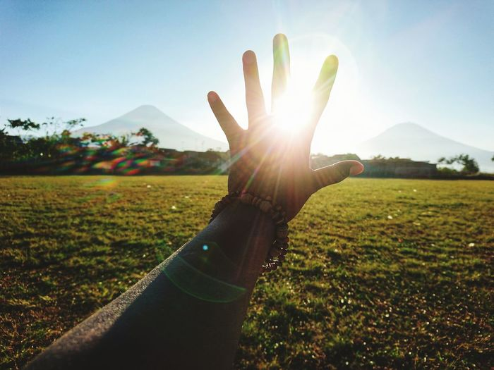 hope Human Hand