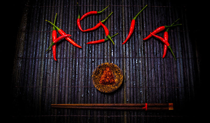 """""""ASIA"""" text on black bamboo mat backgroud Alphabet Alphabetography Alphabet Art Alphabetical Alphabets"""