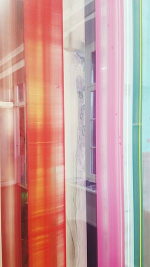 art looks Looks Art And Craft Art Painting Arty Red Amber Pink Blue Green Colorful Lines Colorful Colorful Life Lights And Shadows Lights And Colors Artlooks Multi Colored Close-up Full Frame Window Display LINE Store Window See Through Backgrounds Drapes  Translucent Fabric