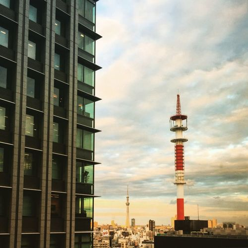 Tokyo Sky Tree Sunset I Heart Tokyo IPhoneography Buildings
