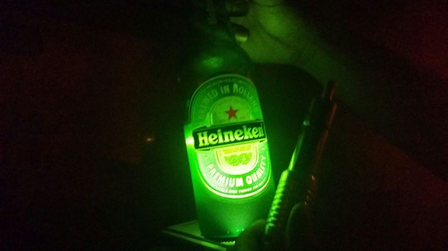 Hanging Out Heineken Green K100
