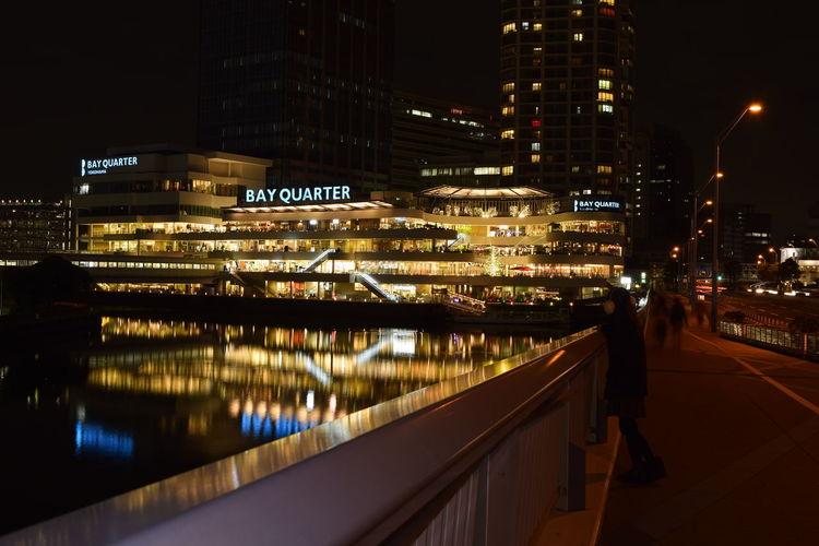 The Architect - 2016 EyeEm Awards Yokohama Night EyeEm Best Shots Cityscape City Nightphotography Long Exposure Reflection Architecture Illuminated We_are_buddy_Tm's_photo That's Me!