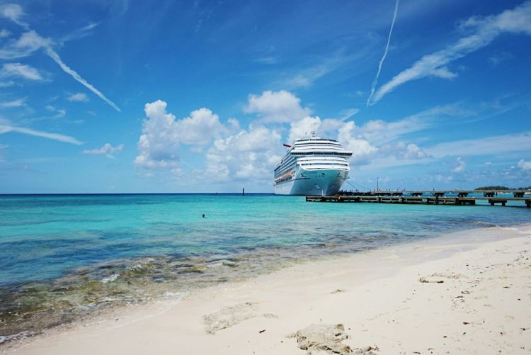 Grand Turk  Turks And Caicos Bahamas Cruise Beach Sand Summer