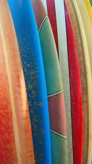 Surboards on rack Surfboard Surfing Life Surfboard Art Surf Wax Surfboard Studio Bali, Indonesia