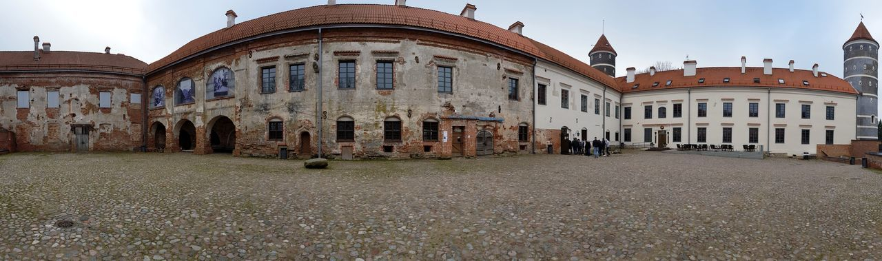 Panoramic view over the courtyard of the castle Castle Castles Castle View  Castle Walls History Historic Historical Building Historical Historic Building Historical Monuments Amazing architecture Architecture_collection Eye4photography  EyeEm Gallery Panorama Panoramic Panoramic Photography Panoramic View Travel Destinations Taking Photos Taking Pictures Cultures Architecture Building Exterior Built Structure Historic Architectural Column Façade Historic Building Place Of Interest