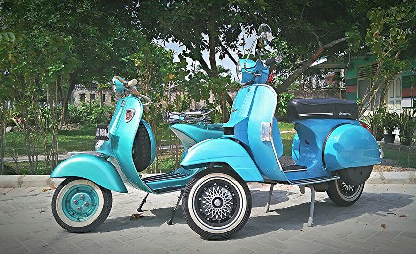 Tua muda berbahaya 👊👽 MyVespaJourney Vespa VESPA Bella Vespagram Vespavintage Vespa Indonesia Vespapx Vespalovers Vespastyle