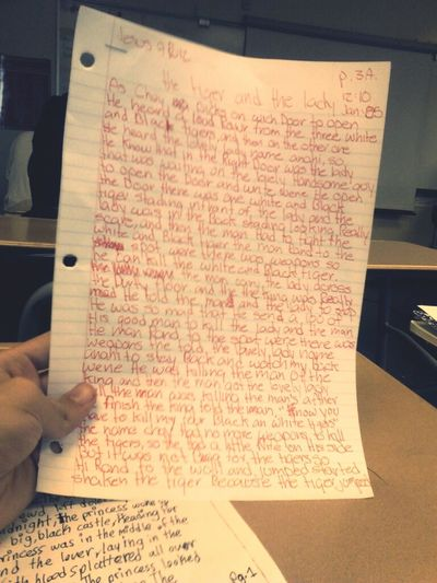 What I Had To Todo In 3B -.- ! , Pinche Maestra Lo Ke Me Pone Aser