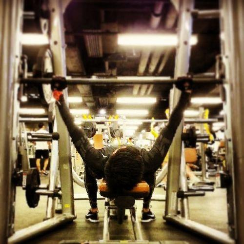 2014/JAN……(126LB)快啲上磅喇! Gym Gym Time GymLife Gym Gym Gym