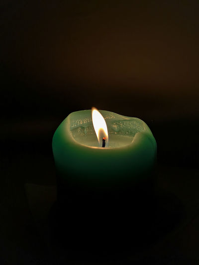 Light up the nights Black Background Illuminated Flame Heat - Temperature Burning Candle Candlelight Melting Lit