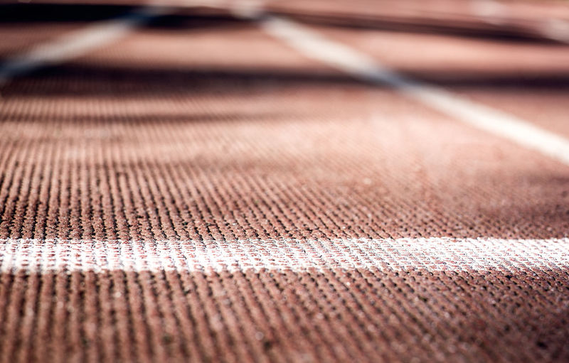 Full frame shot of sports track