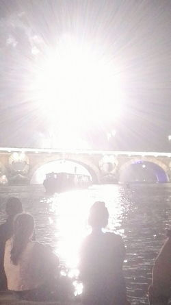 Fireworks 14juillet2016 Peace Sky Shadow Boat Light And Shadow Lights Enjoying Life Water Season  Stories From The City