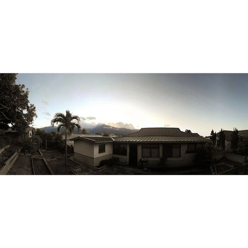 Reminisce Backyard View Maui Snapshot Perspective Panorama Mysticalskys Peaceful Aloha The Essence Of Summer Fireonthehorizon Nature Is Art Sunset Twotone