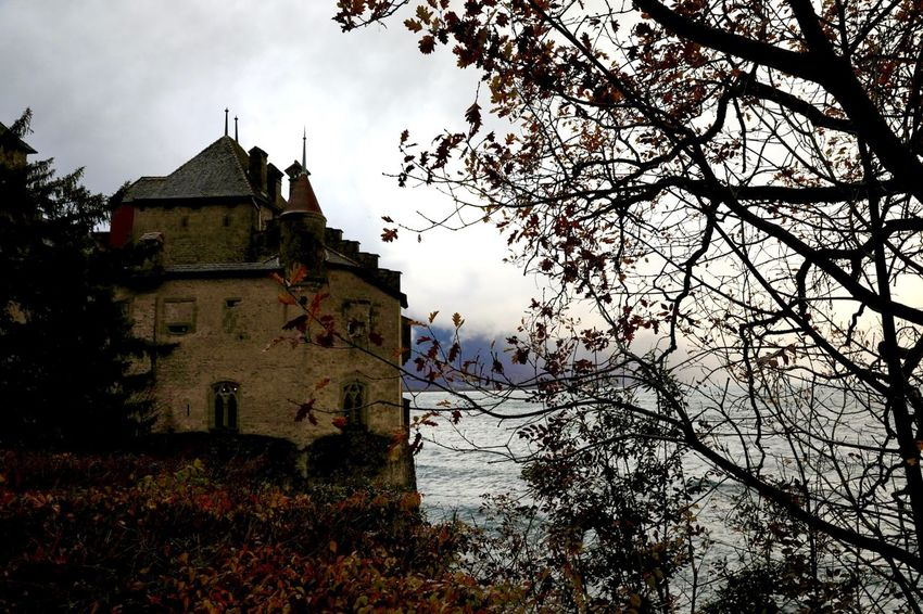 Chillon Castle 🇨🇭 Switzerland Traveling Lake View Landscape_photography Traveling Photography Autumn🍁🍁🍁 Autumn Collection