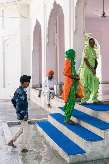 Entering the Gurdwara, Anandpur Sahib, India Place Of Worship Real People Religion India Punjab Street Photography Sikh EyeEmNewHere