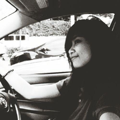 Stolenshot while driving ??? Hello World Blankandwhite Portrait ?❤❤❤??