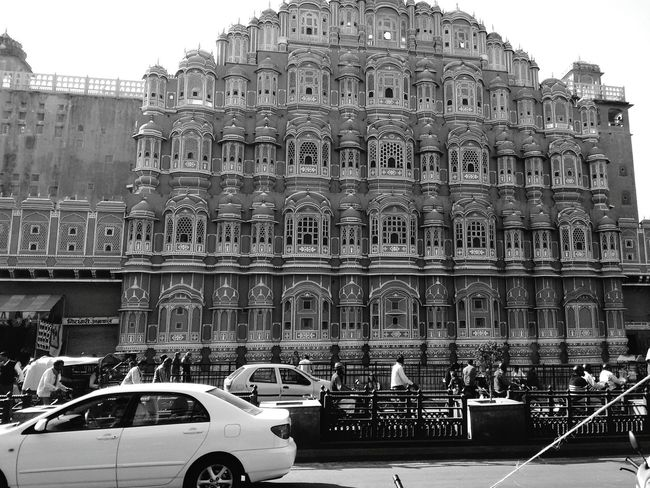Hawa Mahal The Architect - 2015 EyeEm Awards Architecture Historical Building Historical Place Jaipur AI Now