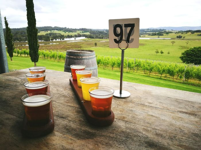 Beer Beer Tasting  Vinyardview Country Life Beautiful Australia Ale Lager A Little Bit Of Everything