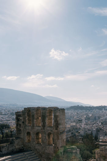 Acropolis Ancient Architecture Athens Athens, Greece Building Exterior Built Structure City Day Greece History Medieval No People Old Ruin Outdoors Sky Travel Travel Destinations Travel Photography