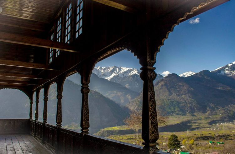 The Great Outdoors - 2018 EyeEm Awards Architecture Balcony Beauty In Nature Heritage Idyllic Landscape Mountain Mountain Range Mountainview Nagar Nature Non-urban Scene Outdoors Scenics - Nature Sky Tranquility Valley Valley View Wood - Material